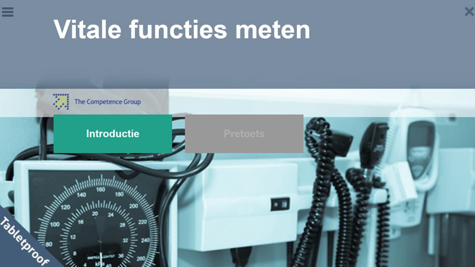 Vitale functies meten